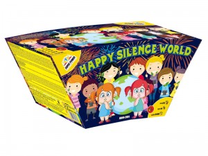 Bateria  HAPPY SILENCE WORLD 49 strzałów kaliber 20 mm